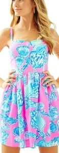 Lilly Pulitzer Ardleigh NWT Pink Pout Dress Sz.12